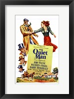 Framed Quiet Man John Wayne & Cast