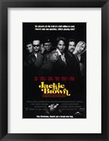 Framed Jackie Brown 6 Players
