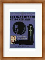 Framed Man with the Golden Arm - German