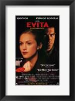 Framed Evita Antonio Banderas