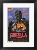 Framed Godzilla 1985