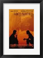 Framed I Am Sam