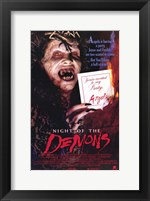 Framed Night of the Demons