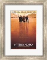 Framed Mystery Alaska Red Hue Hockey