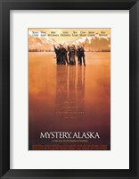 Framed Mystery Alaska Red Hue Hockey