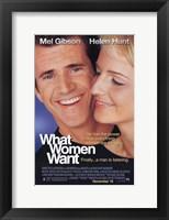 Framed What Women Want