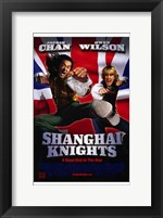 Framed Shanghai Knights