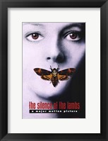 Framed Silence of the Lambs - a major motion picture