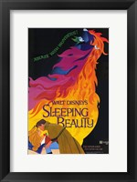 Framed Sleeping Beauty Ablaze with Wonders