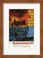 Framed Submarine X-1