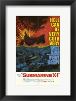 Framed Submarine X-1