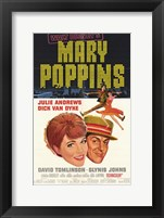 Framed Mary Poppins Broadway Musical