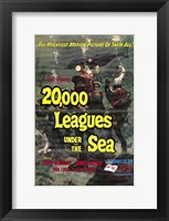 Framed 20000 Leagues Under the Sea Movie