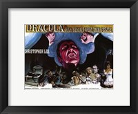 Framed Dracula Has Risen from the Grave Christopher Lee
