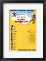 Framed Lost Horizon Come to Shangri-la
