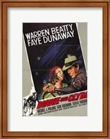 Framed Bonnie and Clyde Warren Beatty