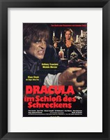 Framed Dracula in the Castle of Blood