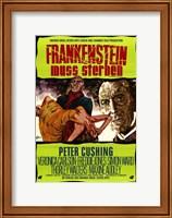 Framed Frankenstein Must Be Destroyed Peter Cushing