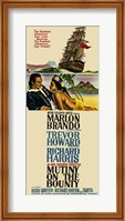Framed Mutiny on the Bounty Marlon Brandon