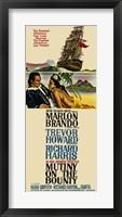 Framed Mutiny on the Bounty Marlon Brandon