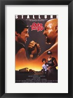 Framed Over the Top - Stallone