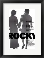 Framed Rocky Silhouette - German