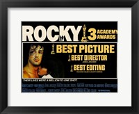Framed Rocky Horizontal