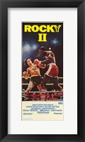 Framed Rocky 2 fighting