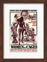 Framed Women in Cages, c.1971
