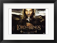 Framed Lord of the Rings: Return of the King Closeup