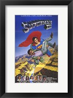 Framed Superman 3 Cast
