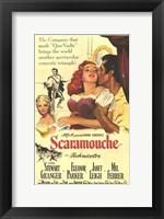 Framed Scaramouche Stewart Granger