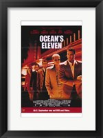 Framed Ocean's Eleven - five people