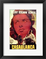 Framed Casablanca Close Up