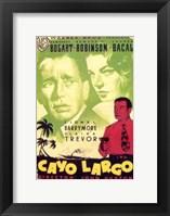 Framed Key Largo Cayo Largo