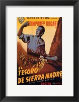 Framed Treasure of the Sierra Madre - spanish
