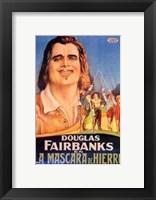 Framed Three Musketeers - Douglas Fairbanks
