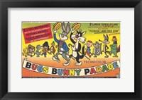 Framed Bugs Bunny Parade