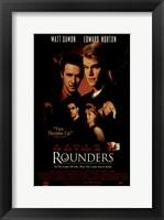 Framed Rounders - Matt Oamon