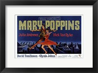 Framed Mary Poppins Broadway