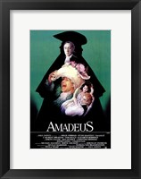 Framed Amadeus Green with Cast
