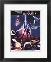 Framed Tron Silhouette