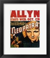 Framed Cleopatra Allyn
