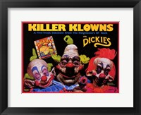 Framed Killer Klowns from Outer Space
