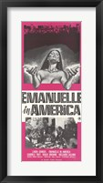 Framed Emmanuelle in America, c.1979 - style A