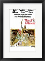 Framed Man of La Mancha