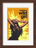 Framed Tarzana the Wild Girl, c.1969