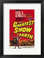 Framed Greatest Show on Earth De Milles