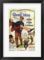 Framed Quiet Man Fitzgerald John Wayne & O'Hara