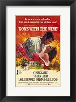 Framed Gone with the Wind - In new screen splendor...